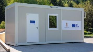 Климатизовани контејнер донација Владе РС и ЕУ Дому здравља Зајечар