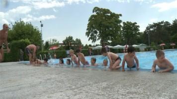 Школа пливања на градском базену