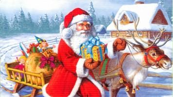 Деда Мраз у Градској управи