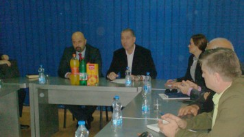 Сусрет челника Зајечра и Радоја Савићевића, државног секретара у Министарству регионалног развоја
