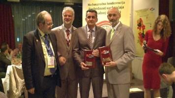 Признање Зајечару, домаћину конференције о безбедности у саобраћају