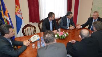 Министар грађевине Велимир Илић у посети Зајечару
