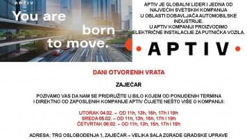 Фабрика Аптив: Дани отворених врата у Зајечару