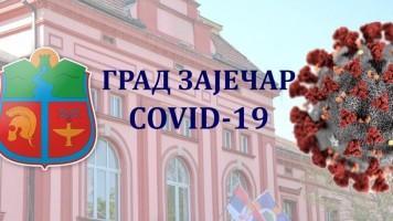 Откривено још шест (6) нових COVID-19 позитивних грађана Зајечара