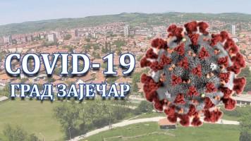 Зајечар: Два (2) резултата позитивна на COVID-19 вирус