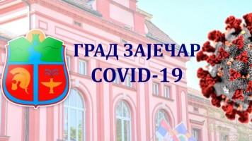 COVID-19: У Зајечару нема новоинфицираних вирусом