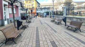 Нов улични мобилијар у делу улице Тимочке буне