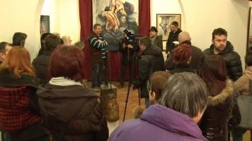 Отворена изложба скулптура и слика у Меморијалу