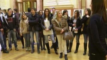 Зајечарски средњошколци у посети Народној Скупштини Србије