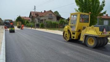 Почело асфалтирање Сокобањске улице
