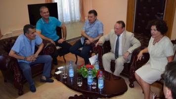 """Пријем за делегацију Универзитета """"Новосибирск"""" из Русије"""
