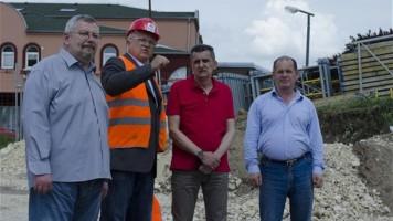 Огњеновић: Задовољан сам динамиком радова на мосту у Котлујевцу