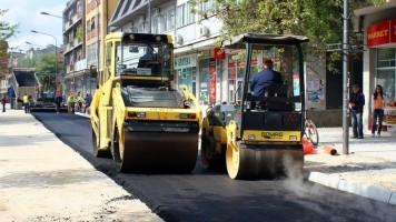 Почело асфалтирање улице Николе Пашића