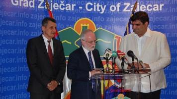 Амбасадор Киф: Град Зајечар је прави пример сарадње Србије и Велике Британије!