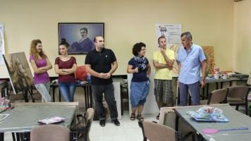 Градоначелник Огњеновић посетио уметнике