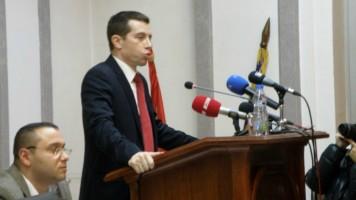 Стефан Занков на челу зајечарског парламента