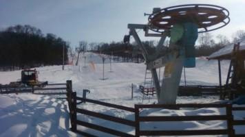 Постављање сидра на скијалишту