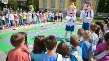 Септембар - месец саобраћајне едукације првака
