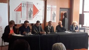 У Атељеу 212 у Београду  одржана прес конференција  поводом Зоранових дана
