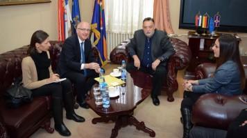 Немачки амбасадор у Србији Томас Шиб посетио Зајечар
