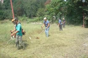 Акција чишћења и уређења паркова и зелених површина у Гамзиградској бањи