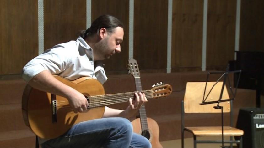 У склопу Гитар Арт стејџа одржана радионица гитаре Богдана Пејића