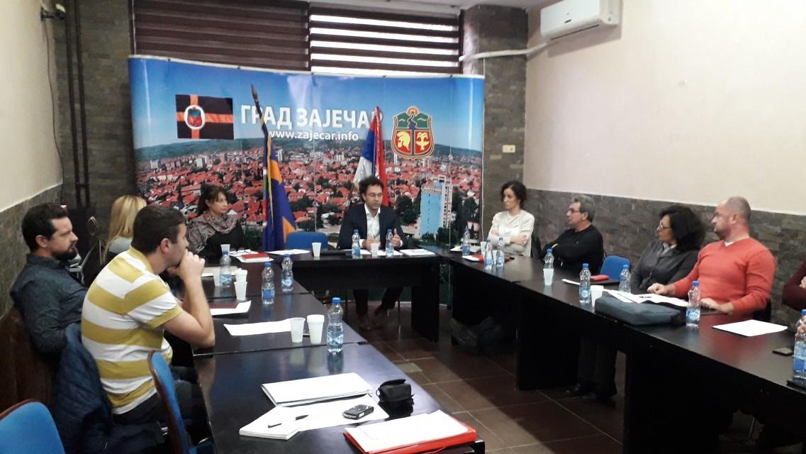 Заседала Радна група за израду Географског информационог система града Зајечара