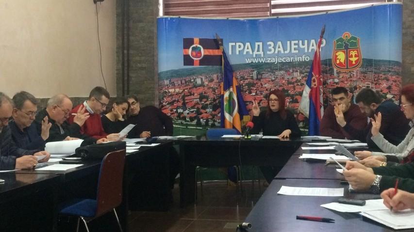 Oдржана 131.седница Градског већа у Зајечару