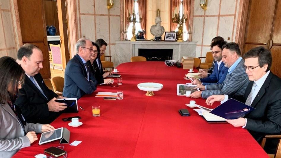 Радни састанак у амбасади Републике Француске: Договор око бројних питања