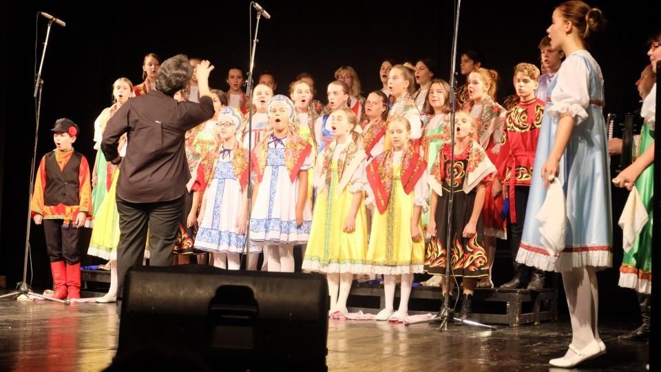 "Oдржан концерт дечјег хора ""Радост"" из Москве"