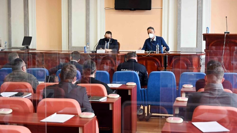 Министар унутрашњих послова Александар Вулин у Зајечару: Одржана седница Савета за безбедност града Зајечара