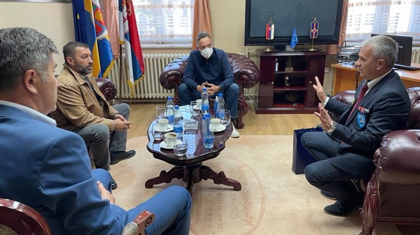 Градоначеник Зајечара Бошко Ничић приредио пријем за борце са Кошара