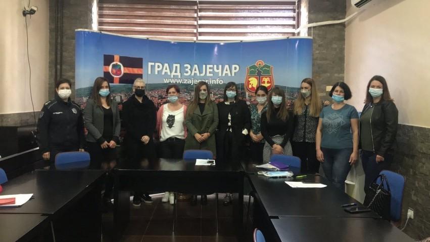 Одржан састанак Радног тима за израду ЛАП-а за унапређивање положаја жена и родне равноправности града Зајечара