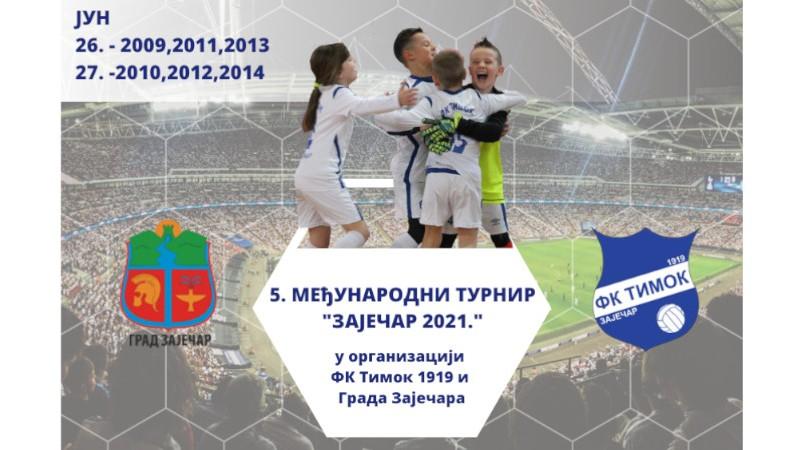 За викенд 5. Међународни фудбалски турнир