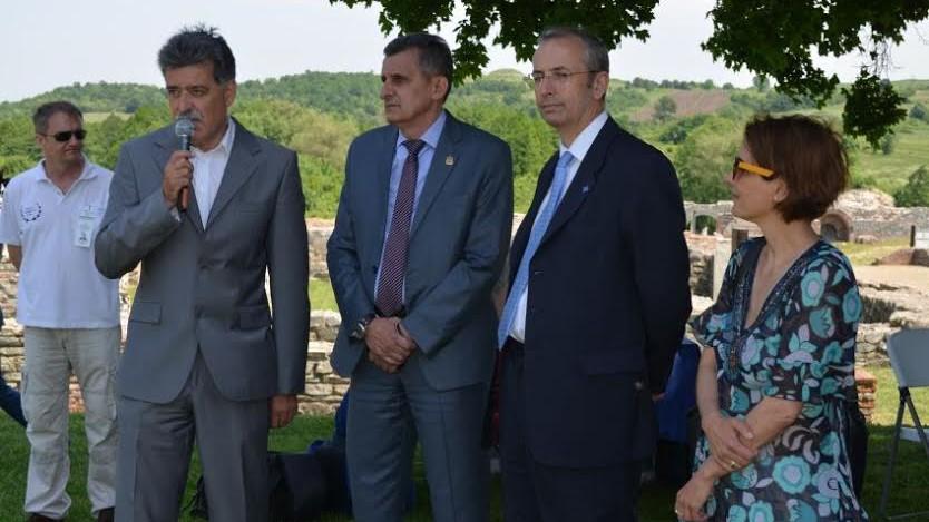 Градоначелник Огњеновић и амбасадор Девенпорт посетили Феликс Ромулијану