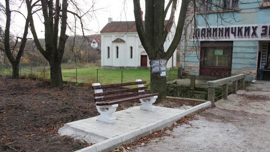 Уређује се центар села у Планиници