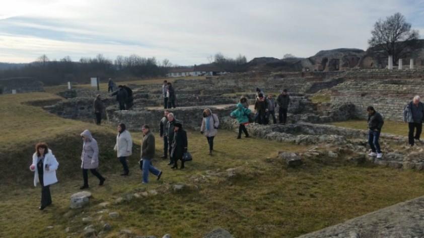 Посетиоци из Бугарске први на Ромулијани у 2017.години