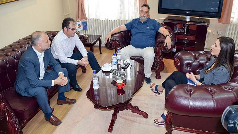 Састанак градоначелника Ничића и директора Heiniken-а