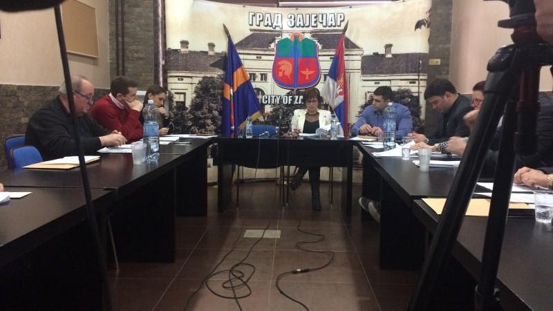 Јуче заседали градски већници -Одржана 28. Седница Градског већа