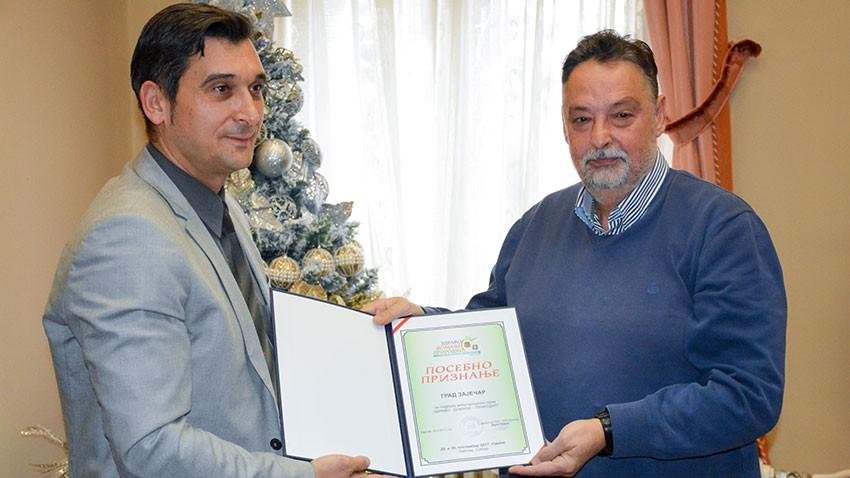Потписан споразум о пословно техничкој сарадњи између града Зајечара и Коморе