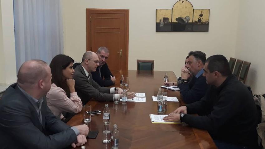 Градоначелник Ничић се састао са министром заштите животне средине Гораном Триваном