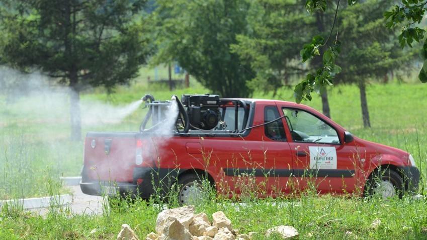 Акција сузбијања комараца и крпеља  на територији града Зајечара