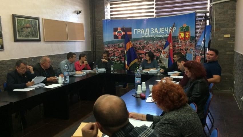 Oдржана 65.  седница Градског већа града Зајечара