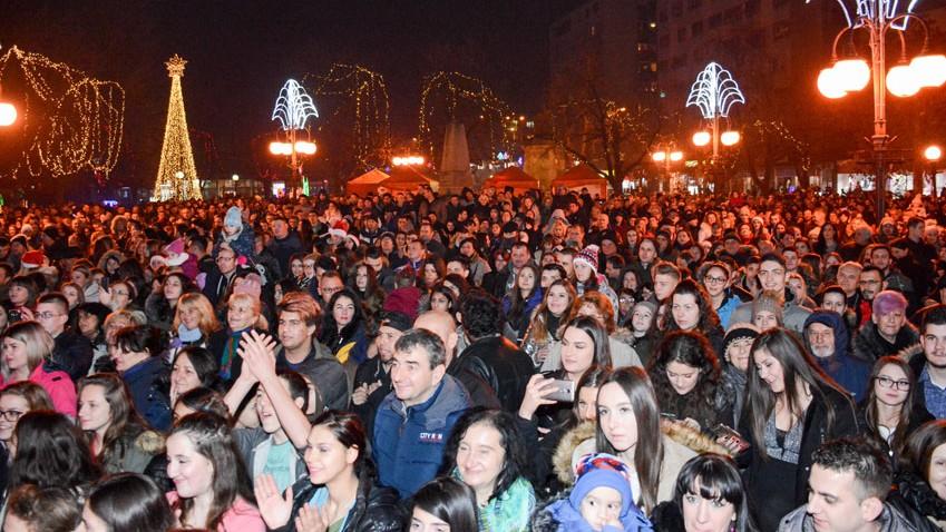 Нова година на Градском тргу у Зајечару!